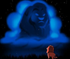 disney, lion king, and simba image
