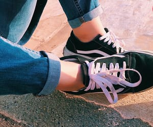 fashion, vans, and off the wall image