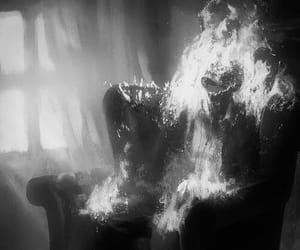 fire and horror image