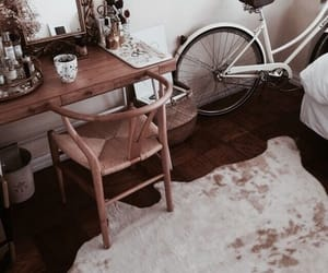 home, interior, and bike image
