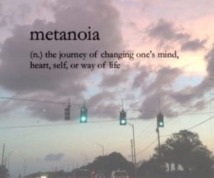 quotes, words, and metanoia image