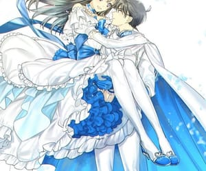 anime, couple, and detective conan image