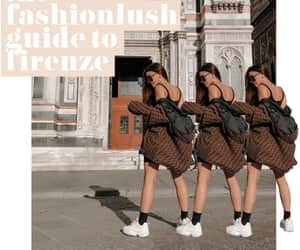 fashion blogger, fendi, and italy image