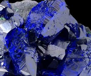 azurite and crystal image