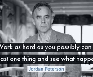 quote, work, and jordan peterson image