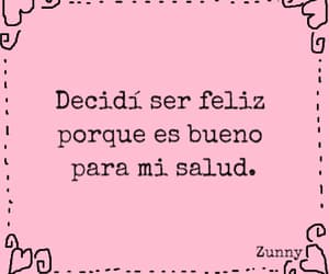 thoughts, pink, and spanish quote image