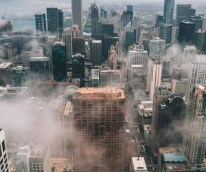 backstreet boys, city, and clouds image