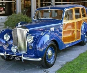 1949, cobalt blue, and classic cars image