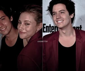 couple, cole sprouse, and ig image