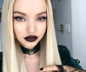 dove cameron, blonde, and Halloween image