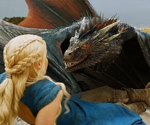 dragon, game of thrones, and daenerys targaryen image