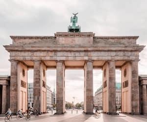 aesthetic, berlin, and brandenburg gate image