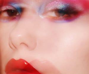 blurry, closeup, and cosmetics image