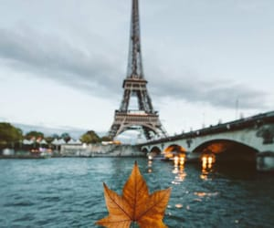 paris, fall, and france image