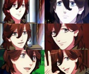 anime, boys, and reiji image