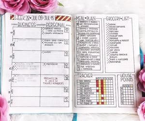 grocery list, inspiration, and journaling image