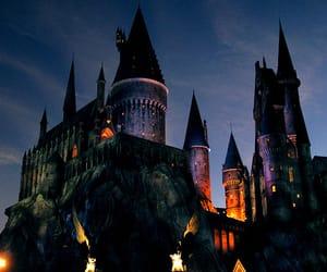 OC, dark witch, and hogwarts house image