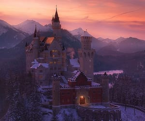 adventure, castle, and mountains image