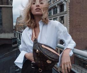 blonde, style. street style, and elsa hosk image