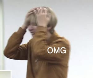 meme, bts, and reaction image