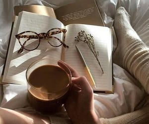 aesthetic, books, and calm image