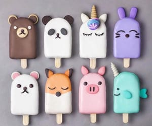animal, food, and ice cream image