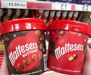 chocolate, food, and malteseres image