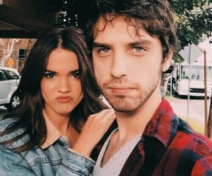 the fosters, maia mitchell, and david lambert image