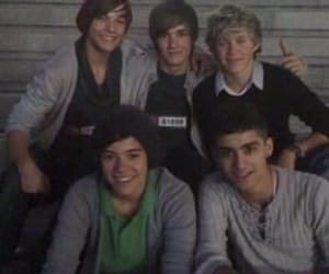 1d, louis tomlinson, and Harry Styles image