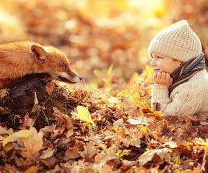 autumn colors, little boy, and tumblr image