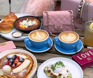 bags, caffe, and chanel image