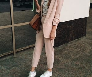 fashion, makeup, and sneakers image