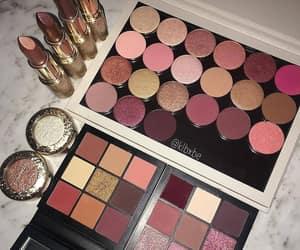 makeup, beautiful, and chic image
