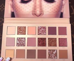eyeshadow, palette, and huda beauty image