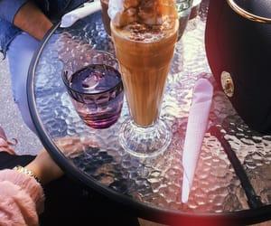 bag, coffee, and ice coffee image