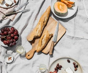 baguette, yummy, and brunch image
