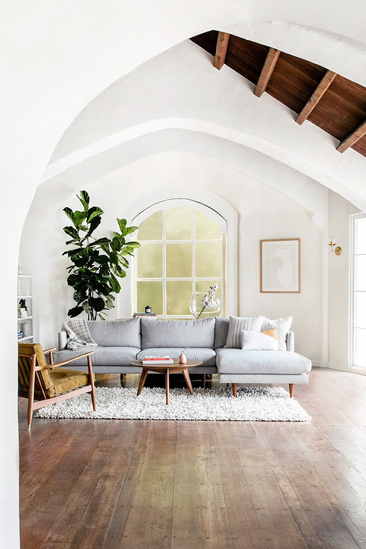 This modern bohemian Oakland home tour is full of clean ...