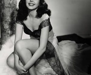 ann miller, black and white, and vintage image