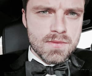 sebastian stan, bucky barnes, and golden globes image