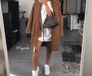 fashion style, outfit clothes, and winter autumn image