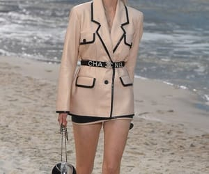chanel, model, and outfit image