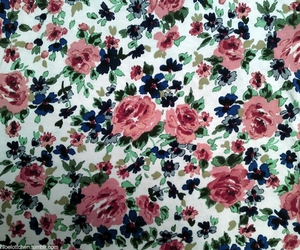fashion, floral pattern, and flower print image