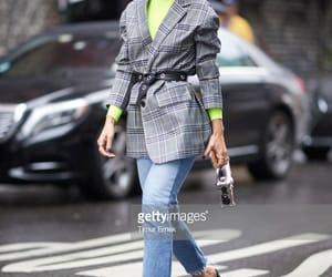 fashion week, street style, and model image