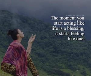 blessing, live your life, and moments image