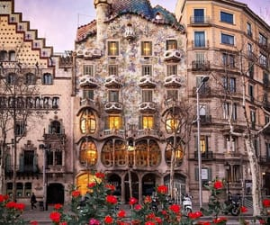 architecture, Barcelona, and europe image