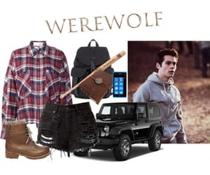 inspired, Polyvore, and werewolf image