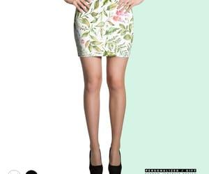 etsy, short skirt, and floral skirt image