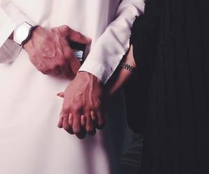 couple, muslim, and lové image