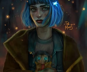 cartoon, movie, and coraline image