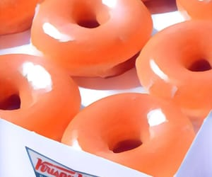 donuts, edit, and glazed donut image